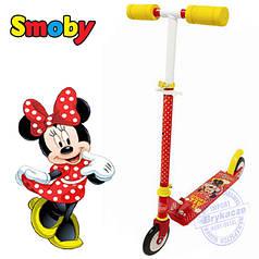 Двоколісний Самокат minnie mouse smoby 450172
