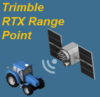 Trimble RTX Range Point (<20 см) подписка на 1 год