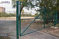 Ворота и калитка из метала по низкой цене, фото 1