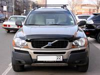 """Дефлектор капота Volvo XC90 2003-> """"SIM"""" темный"""