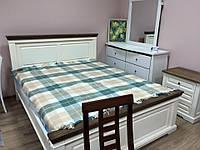 Спальня деревянная Калифорния Dom, античный белый