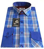 Рубашка мужская приталенная в клетку S17.1 - 37017V1, фото 1