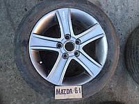Диск колёсный, оригинальный, легкосплавный R16 от Mazda 6 - 2004 г.в.