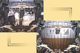 """Защита моторного отсека Nissan X-Trail Т30 2001-2006 """"Полигон"""" (St)"""