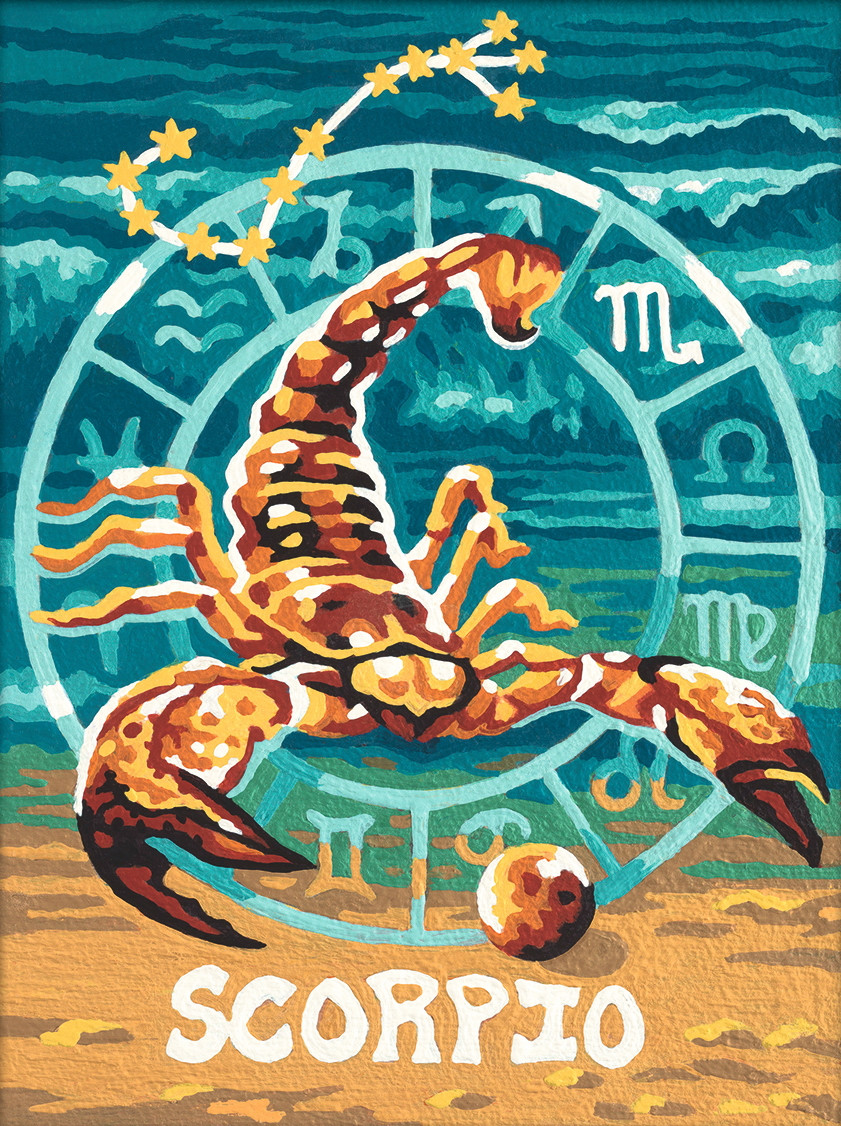 Картина по номерам «Schipper» (9390679) Знак зодиака - Скорпион, 18х24 см