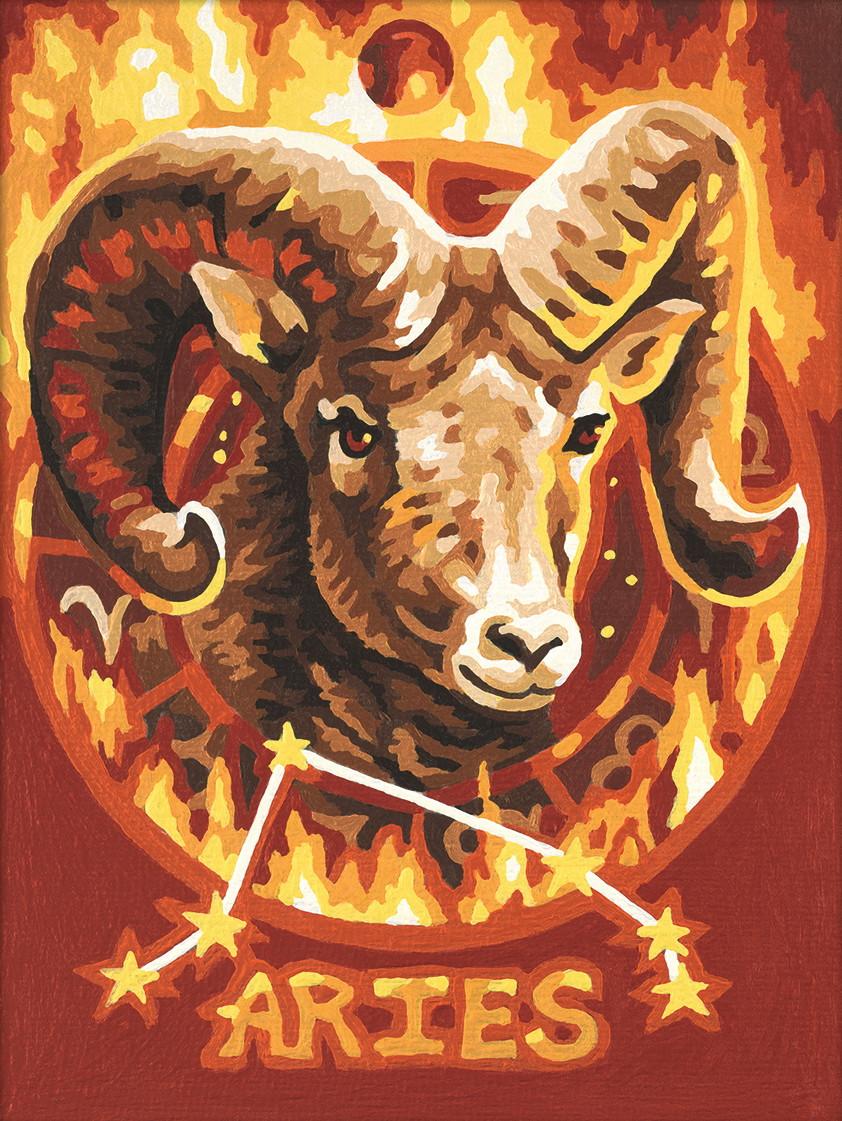 Картина по номерам «Schipper» (9390672) Знак зодиака - Овен, 18х24 см