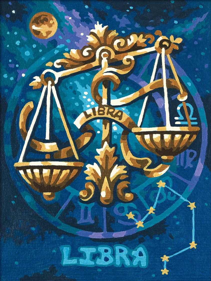 Картина по номерам «Schipper» (9390678) Знак зодиака - Весы, 18х24 см