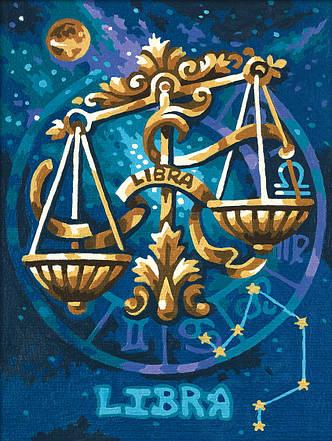 Картина по номерам «Schipper» (9390678) Знак зодиака - Весы, 18х24 см, фото 2