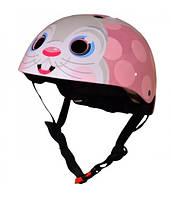 Шлем детский Kiddi Moto Bunny, размер S 48-53см