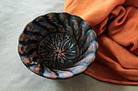 Креманка из красной глины