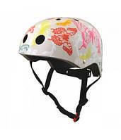 Шлем детский Kiddi Moto Butterflies, размер S 48-53см