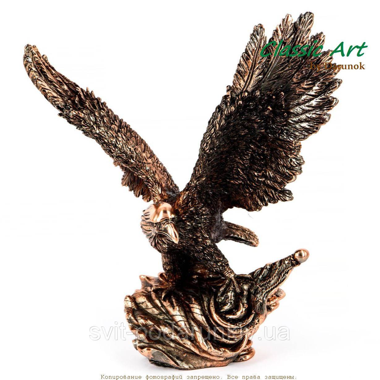 Фигурка орла статуэтка с расправленными крыльями ES103