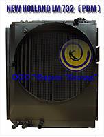Радиатор охлаждения водяно-масляный для погрузчика телескопического NEW HOLLAND LM 732