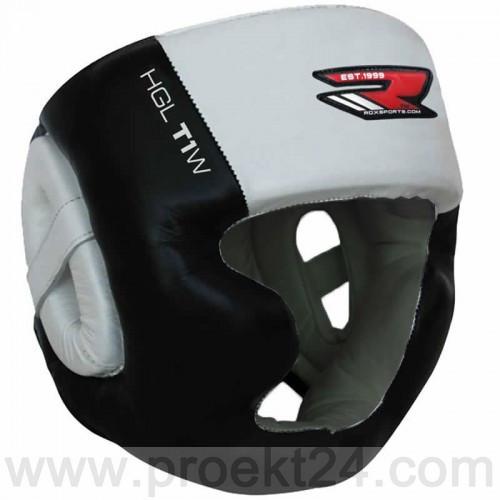 Боксерский шлем с защитой подбородка RDX WB-L