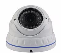 Видеокамера купольная LUX 1420 SHE SONY EFFIO 700 TVL, камера наружного видеонаблюдения, купольная видеокамера
