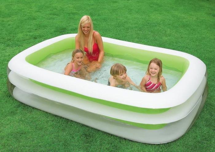 Надувной бассейн Intex 56483, 262-175-56 см