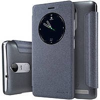Кожаный чехол Nillkin Sparkle для Lenovo K5 Note чёрный