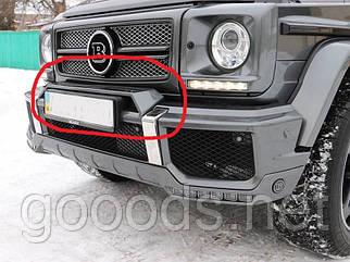 Накладка над номером BRABUS для Mercedes W463