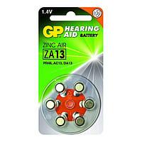 Батарейка для слуховых аппаратов GP ZA13-D6 (PR48, DA13X, 1,4v, аналог AG5)