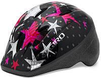 Велошлем детский Giro Me 2 чёрный/розовый Stars, Uni (48-52 (GT)