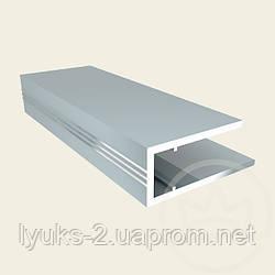 Торцевой профиль АПТ 6мм серебро