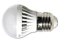 Лампа светодиодная Led lamp E27 3W 3000К Alesto. Тёплый белый.