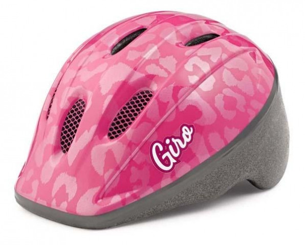 Велошлем детский Giro Me 2 розовый Leopard, Uni (48-52 (GT)