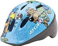 Велошлем детский Giro Me 2 светлый/синий Animals, Uni (48-52 (GT)