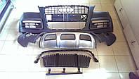 Передний бампер на Audi Q7 рестайлинг, фото 1