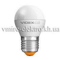 Лампа светодиодная G45e шар 3,5w E27 4100k 220v Videx