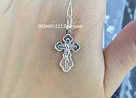 Детский серебряный крестик Артикул ММ41020