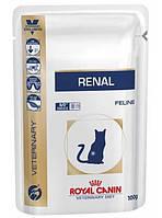 Royal Canin Renal Feline Лечебная консерва для кошек при почечной недостаточности, с курицей
