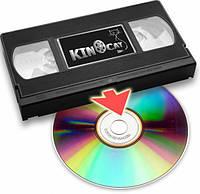 Оцифровка видео каcсет VHS, mini DV
