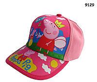 Кепка Peppa Pig для девочки. 52-54 см