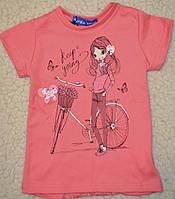 Хлопковые футболочки,на спинке вставка из мягкого стрейч-гипюра.рост 98.104.110.116.122.128.134.140
