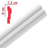 Плинтус потолочный Premium decor РМ60 (М2) 2м 60x13мм