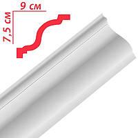 Плинтус потолочный Premium decor РХ120 2м 90x75мм