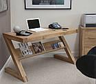 Стол письменный компьютерный из массива дерева 063, фото 3