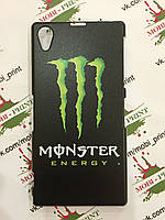 Чехол для Sony Xperia Z1 C6902 (Monster energy)