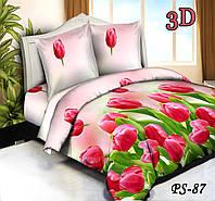 Комплект постельного белья Тет-А-Тет евро  PS-87