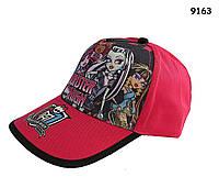 Кепка Monster High для девочки. 52-54 см