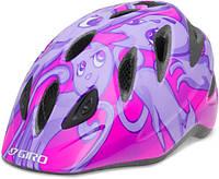 Велошлем детский Giro RASCAL розовый Cats (GT)
