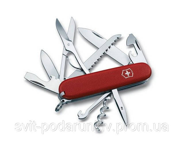 Ккупить в сумах нож victorinox huntsman 1.3713 красный нож викторинокс форестер