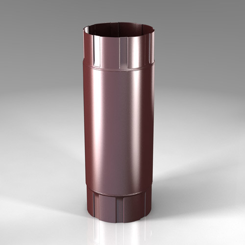 Промежуточная труба PB Roofart Scandic Prelaq 125 мм