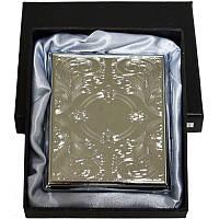 Портсигар классический на 20 сигарет в подарочной коробке №4375-3