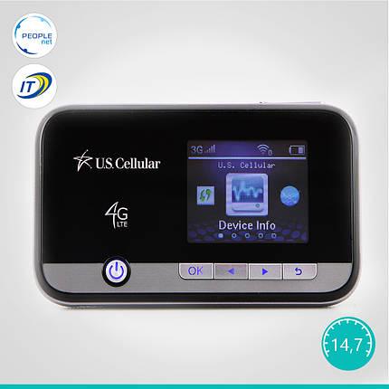 Мобильный 3G/4G WiFi Роутер ZTE Unite 2 MF96U(Аккумулятор 3000 mAh + цветной дисплей), фото 2