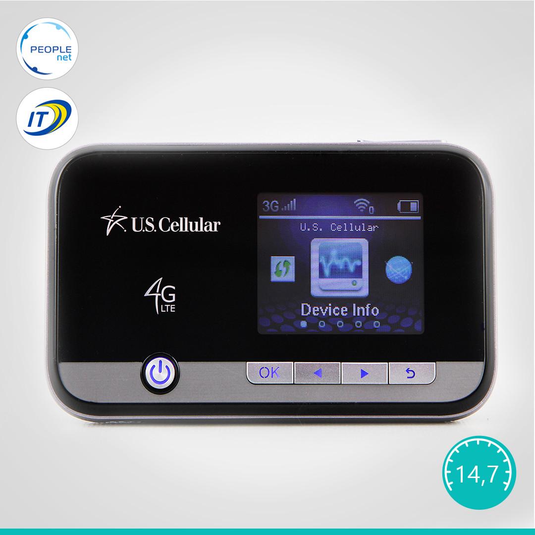 Мобильный 3G/4G WiFi Роутер ZTE Unite 2 MF96U(Аккумулятор 3000 mAh + цветной дисплей)