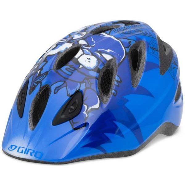 Велошлем детский Giro RASCAL синий Superhero Animals, S/M (46-50) (GT)