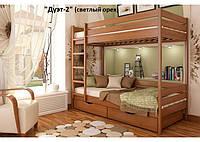 Кровать двухъярусная трансформер Дуэт 2 (массив)