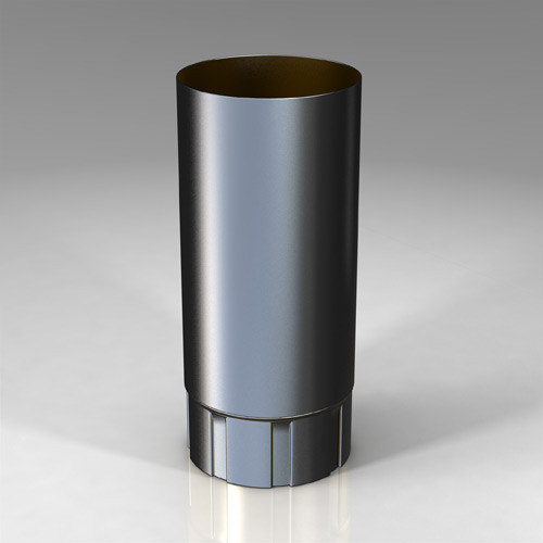 Труба BU Roofart Scandic Prelaq 125 мм